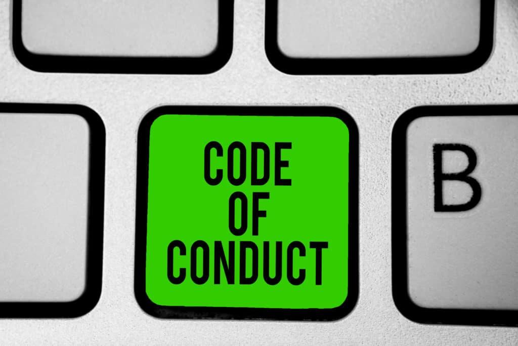 Was bedeutet Code of Conduct?