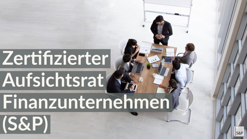 Seminare Aufsichtsrat online buchen